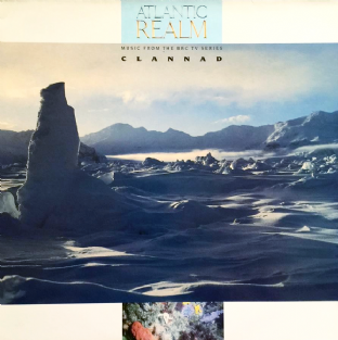 Clannad - Atlantic Realm (Music From The BBC TV Series) (LP) (NM/VG)